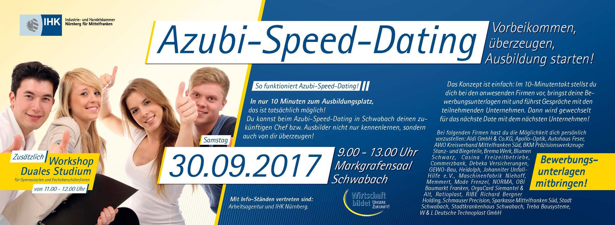 ihk azubi speed dating schwabach