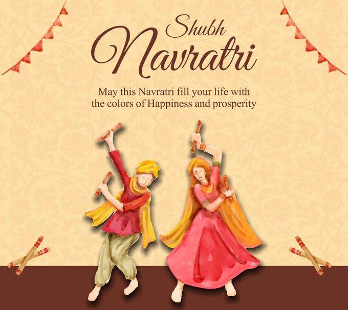 HAPPY NAVRATRI!!!! https://t.co/71rd50CpRl