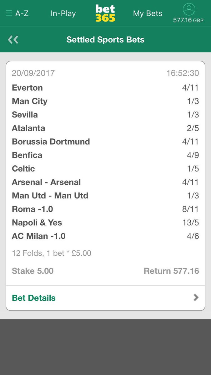 Cashed out on this last night before Benfica conceded #bookiebashing <br>http://pic.twitter.com/9mbP5wMINj
