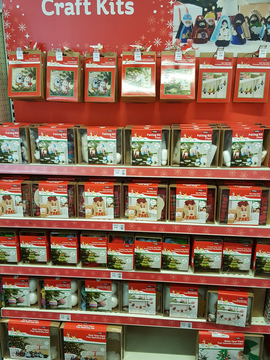 Hobbycraft aberdeen on twitter christmas department in store now 1233 am 21 sep 2017 solutioingenieria