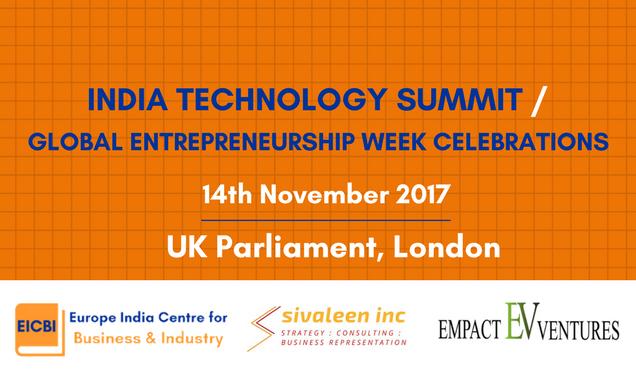V r pleased 2 announce that our next summit, #IndiaTechSummit, wil b held @ #UKparliament on 14th Nov  http://www. eicbi.org/technology-sum mit &nbsp; …  #DigitalIndia<br>http://pic.twitter.com/tFIai1zmYC