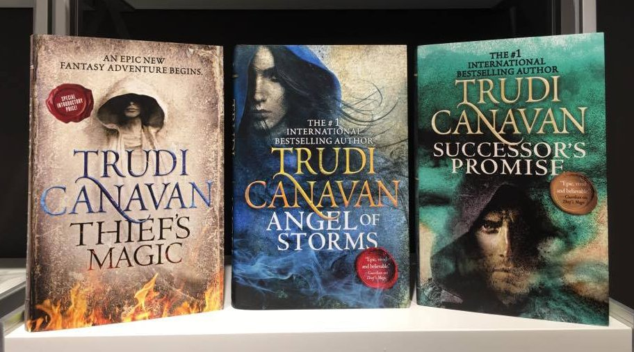 Trudi canavan goodreads giveaways