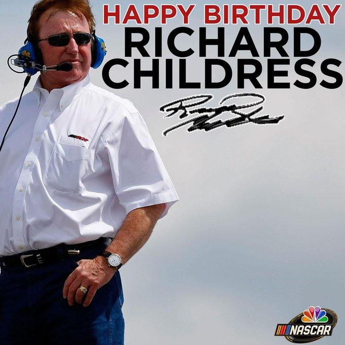 Join us in wishing team owner Richard Childress a very happy birthday!
