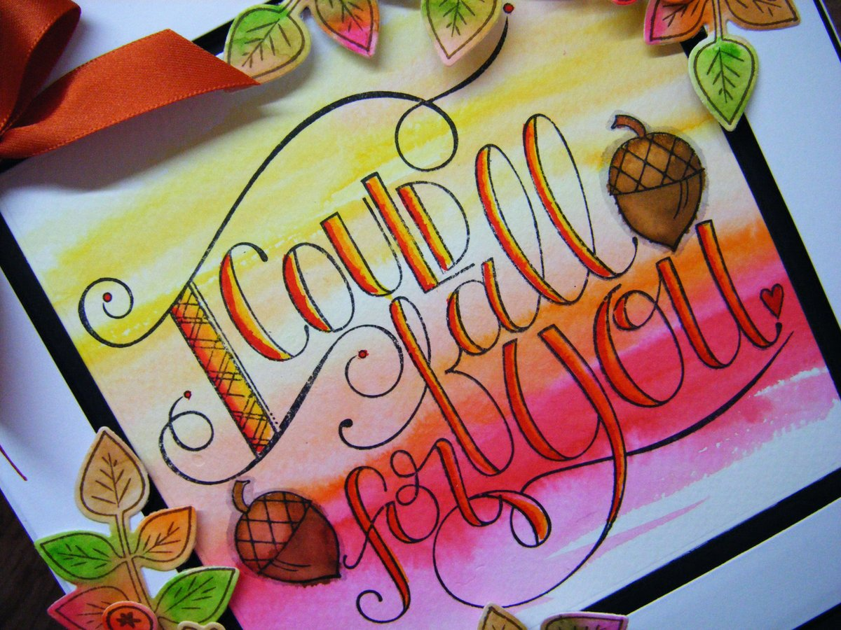 RT @Crafting_Tweets  I could fall for you! @xyroninc  #spellbinders #handmade #autumn #crafting #diy #card #fall   http:// tinyurl.com/ycel28ly  &nbsp;  <br>http://pic.twitter.com/P4OFCUGpUC