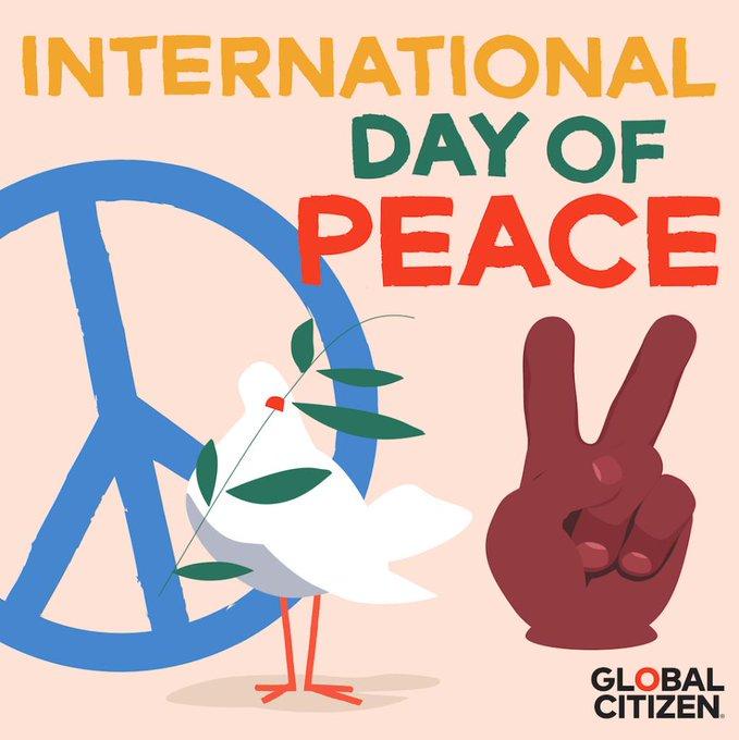Happy International Day of Peace.  #PEACE https://t.co/JCFH7NOtgB