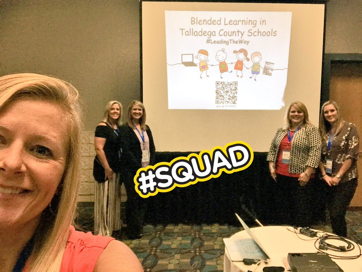 Why not a selfie before our presentation at Alabama Blended Learning Symposium @TCBOE @MunfordElem @TCBOE_LES #LeadingTheWay #iReadyAL<br>http://pic.twitter.com/44K45Wy1lN