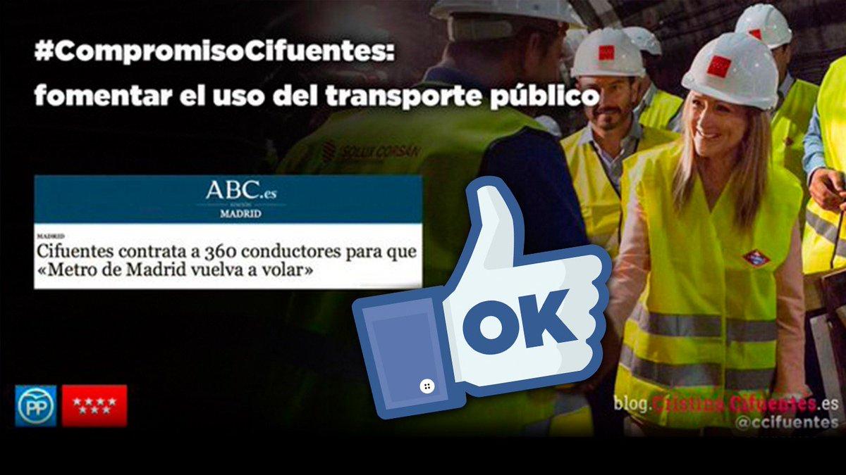 Madrid es la región que más invierte en transporte público. #MadridImp...