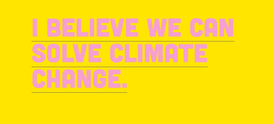Join CDP @ClimateGroup @futerra and many more. Be a #ClimateOptimist....