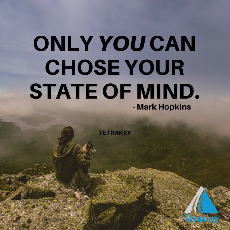 Only you can chose your #StateOfMind #ThursdayMotivation #quote #businesscoach #businessowner #entrepreneur #Successful<br>http://pic.twitter.com/YDfzgqjgSb
