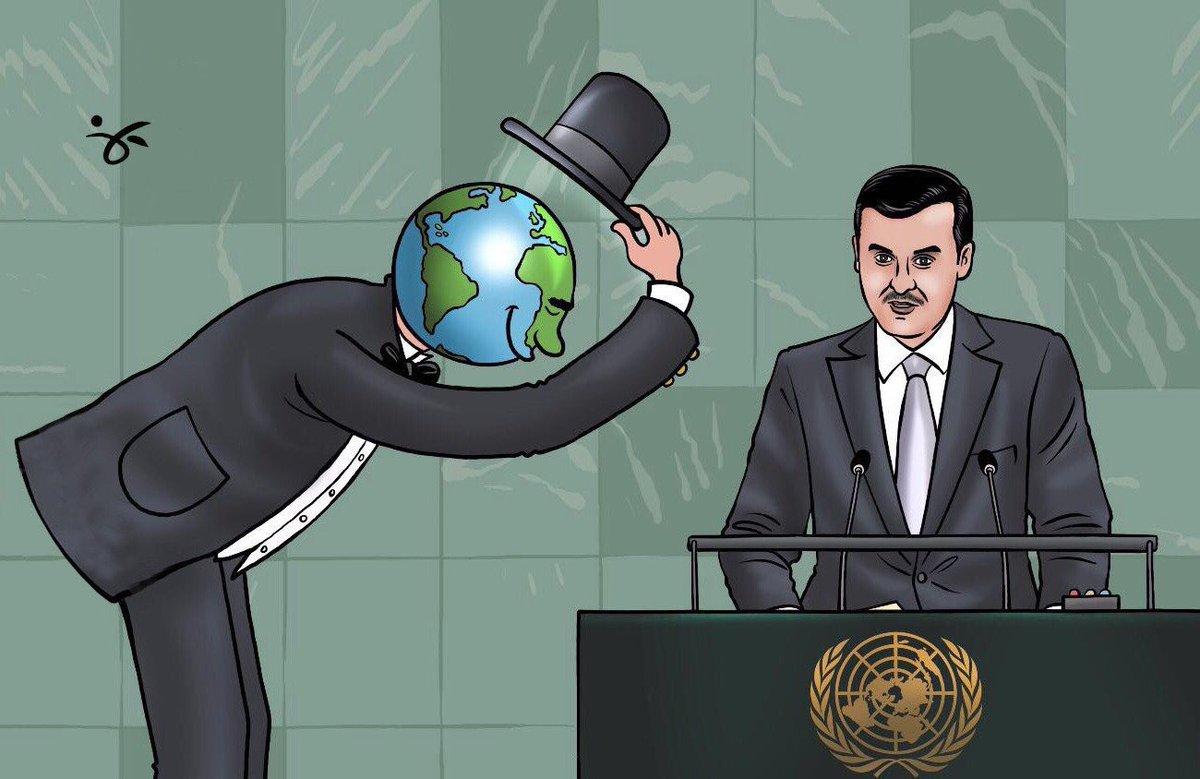#كل_قطر_تستقبل_تميم  كاريكاتير @Cartoon_Abu  #تميم_المجد #مرسال_قطر ht...