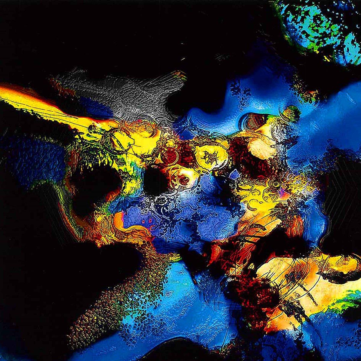 &quot; Midnight Black &quot;   Taizo Hayashi ; Art works ; japan #絵描きさんと繋がりたい #抽象画 #デジタル    #abstractpainting #arte #night #abstractart #onsale<br>http://pic.twitter.com/9MdoleGUPf