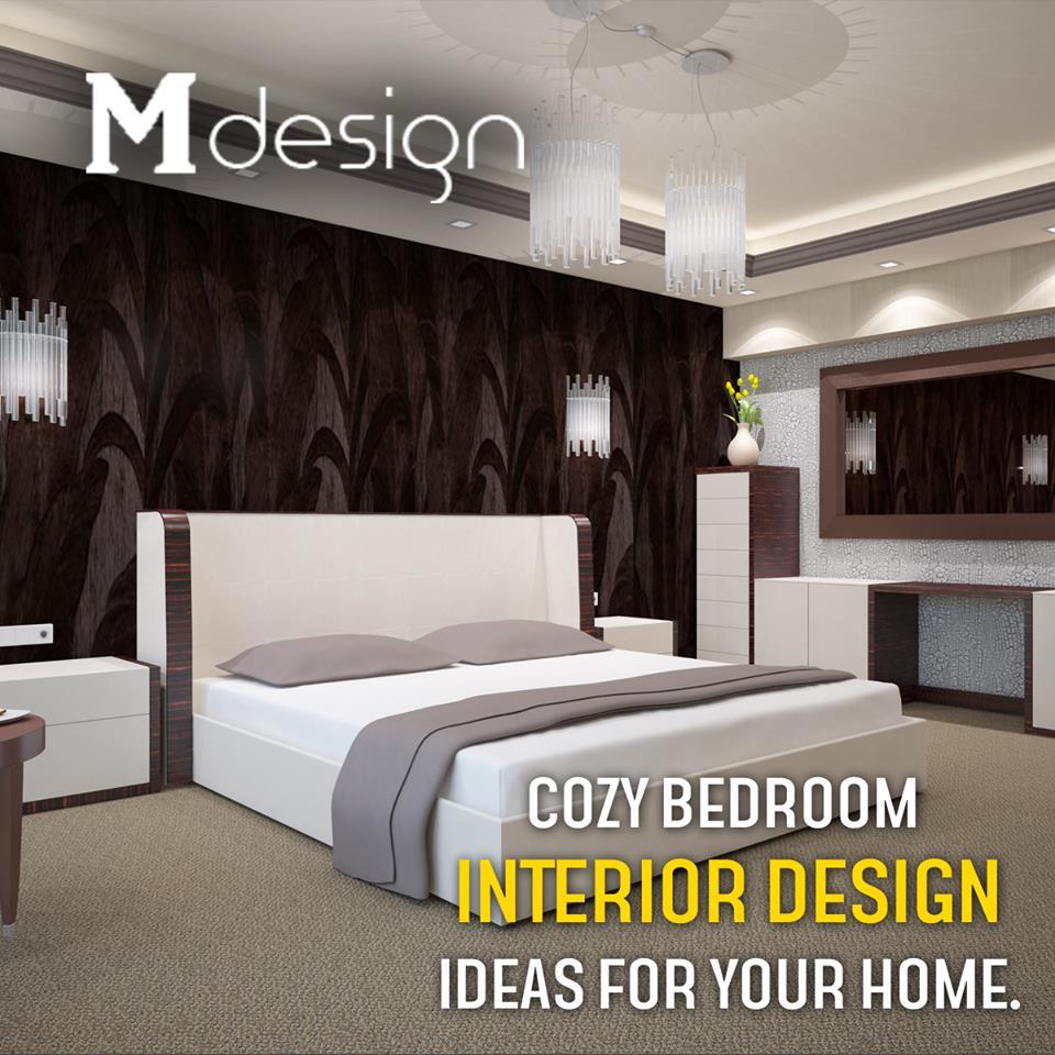 "Home Interior Design Ideas Hyderabad: M Designs Interiors On Twitter: ""Cozy Bedroom Interior"