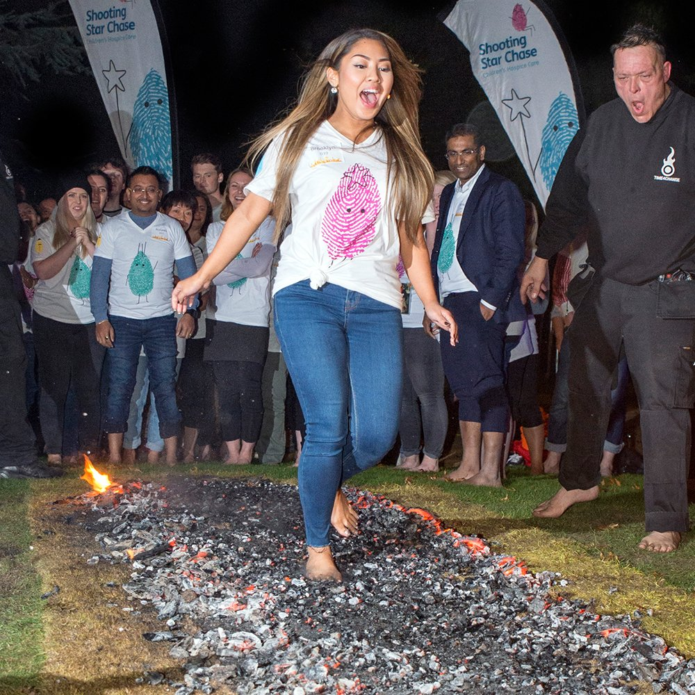RT @Katy_CRM Be brave & join @SSChospices for their Fire Walk at @LoseleyPark in #Guildford https://t.co/UUzr7iE6gw #TeamSSC #Legends #Challenge