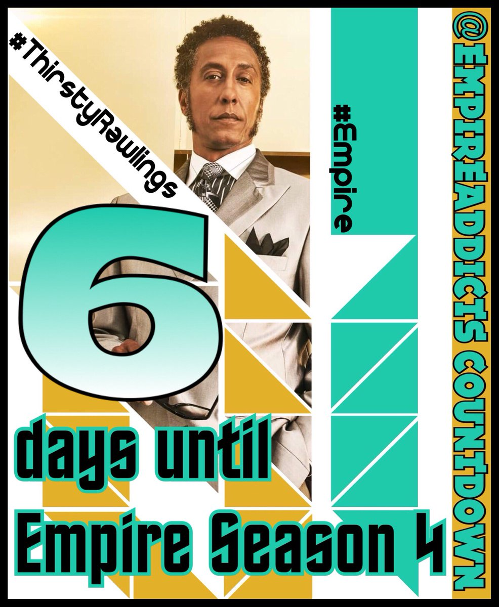 Only 6 days to go until the #Empire Season premiere! @EmpireFOX<br>http://pic.twitter.com/Uvk2y7zqnj