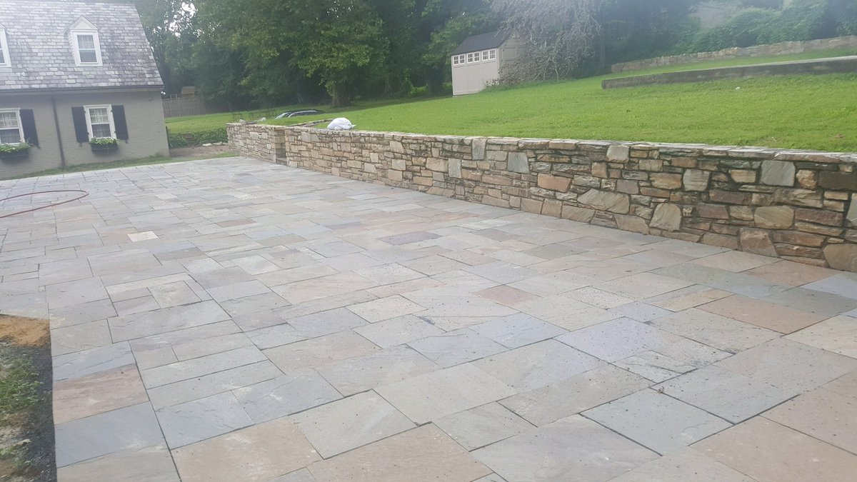 Slate patio at local elementary school #brick #block #slate #stone #construction #dmv ##smallbusiness #blackowned #masonry<br>http://pic.twitter.com/QwghJRHa4r