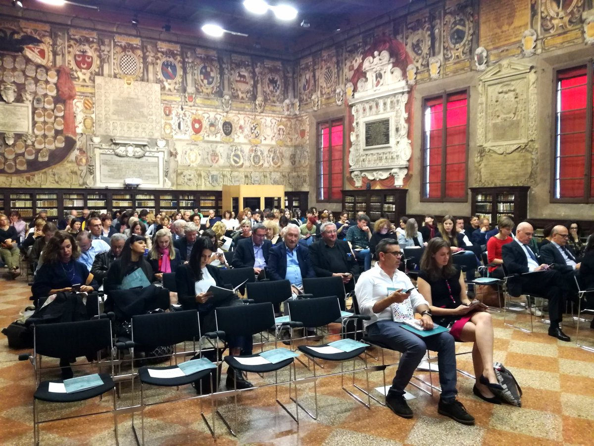 The conference &quot;New Trends in Children&#39;s Book #Publishing &quot; ongoing, in the framework of FEP meeting in Bologna. @aldusnet<br>http://pic.twitter.com/0Mymt2TS5q