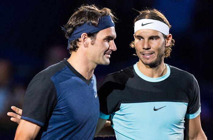 Nadalla Federer torun eyni tərəfində