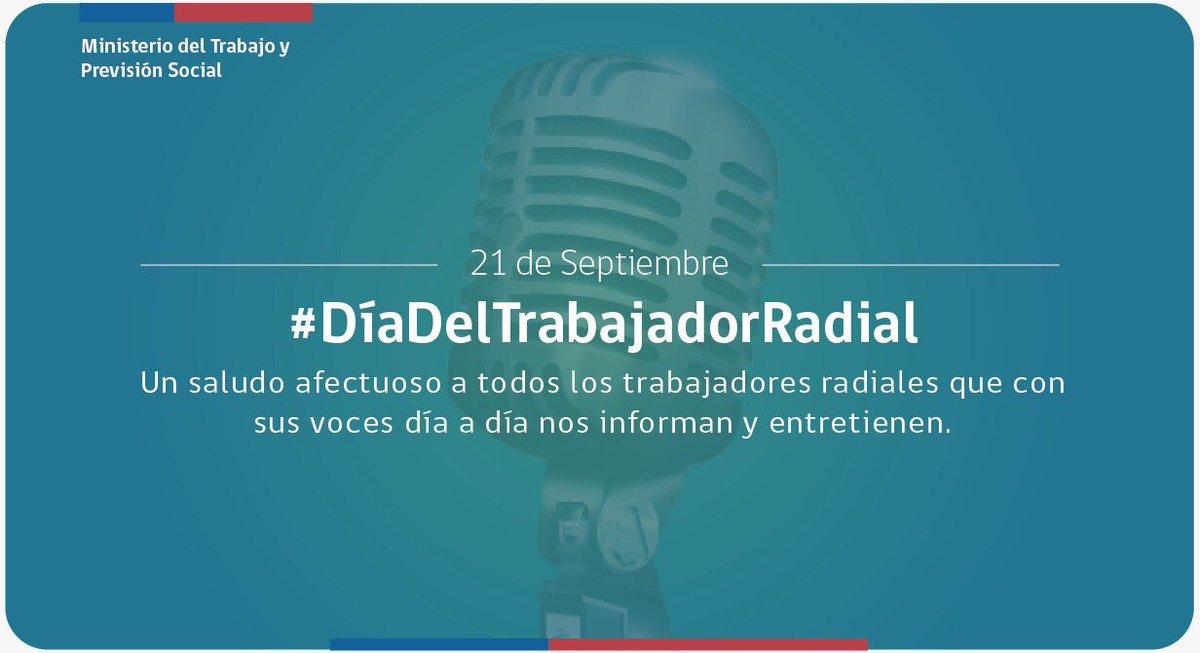 📻 #DíaDelTrabajadorRadial 🎙 https://t.co/1jkDXhU4Oe