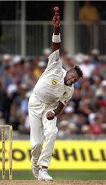 Happy birthday Curtly Ambrose - bass player.
