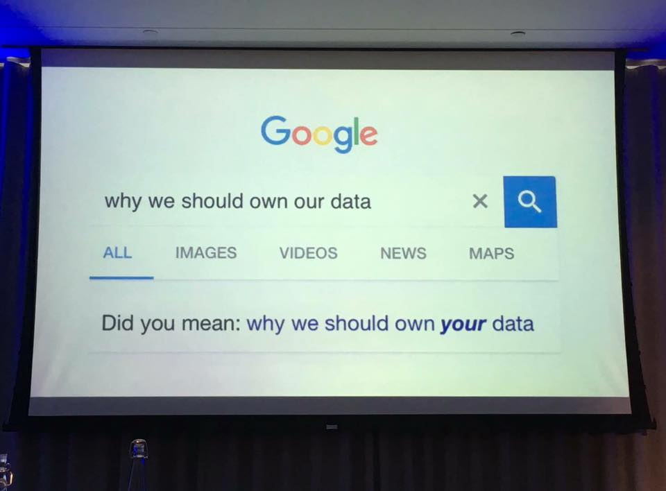 Google corrects our conceptions regarding #privacy and #dataownership...How to argue with the search engine?;-) Well, I&#39;m afraid we have to!<br>http://pic.twitter.com/TMgQYDywQY