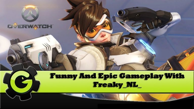 Overwatch - Funny And Epic Multiplayer Gameplay - With Freaky_NL_ ===A...