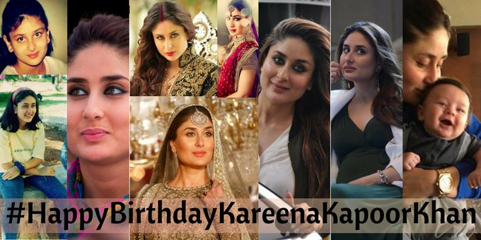 Happy Birthday Kareena Kapoor Khan, commonly known as Bebo.