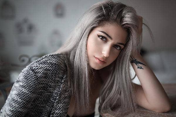 Окрашивание на мелированные волосы фото