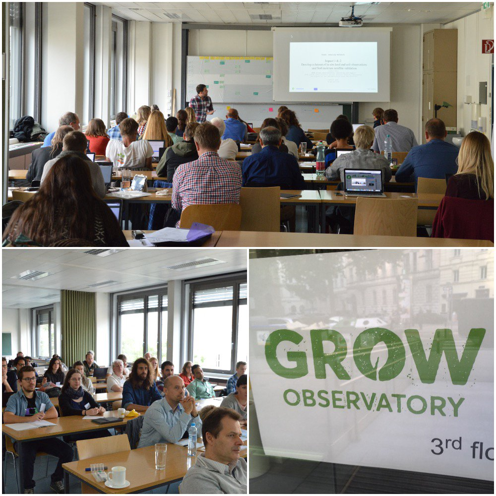 40 people, 18 orgs, 8 EU countries. This is the #GROW team meeting at @geodepartment in #Vienna, for our annual meeting. #ResearchImpactEU <br>http://pic.twitter.com/5r8MFcmArd