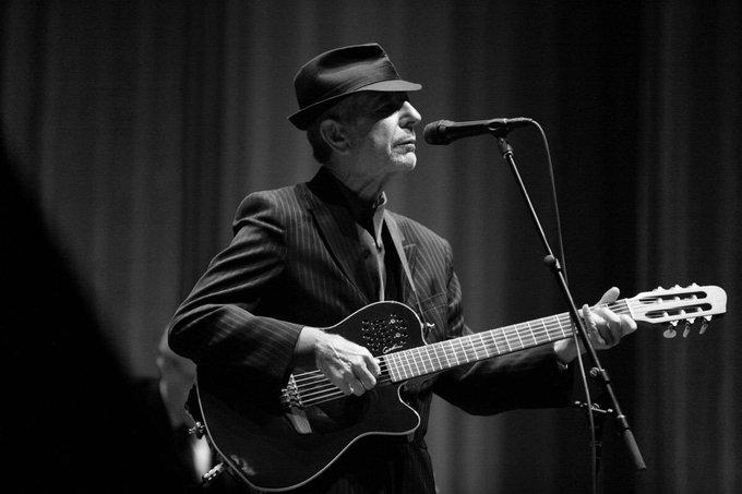 Happy birthday Leonard Cohen!