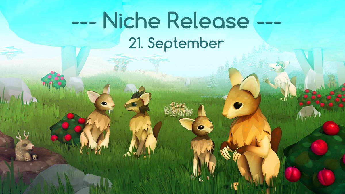 We #giveaway 2 keys for @NicheGame to celebrate our friend&#39;s game release. RT+FOLLOW for a chance to #win. #video #games #gift #NicheGame<br>http://pic.twitter.com/xbU0G0U3bR