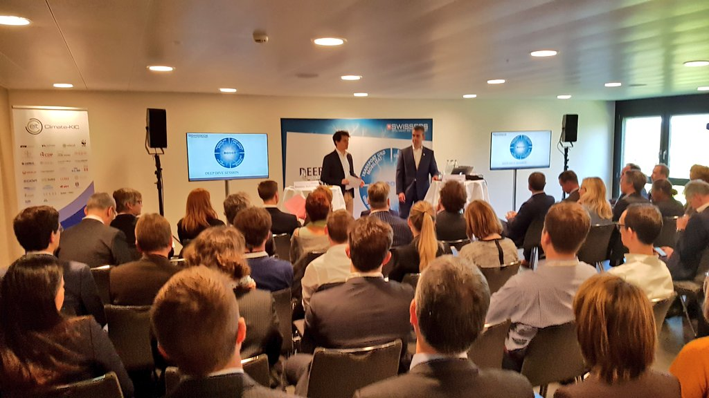 Full house at our #SwissECS17 deep dive session on #CO2 as a raw material! @ClimateKIC<br>http://pic.twitter.com/094DLjTssK