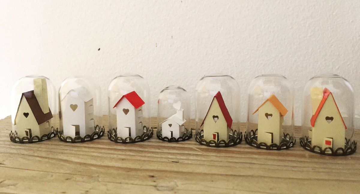 I&#39;m collecting money making #paper houses for those who lost their home recently. Full story in my shop  http:// silvinadevita.etsy.com  &nbsp;  <br>http://pic.twitter.com/7UMcOzSajX