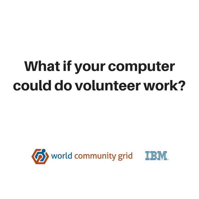 Let your computer do Research Join The World Community Grid @WCGrid  https:// goo.gl/gfYexh  &nbsp;   #gridcomputing #healthresearch #crowdsourcing <br>http://pic.twitter.com/ciZ3Ey6V5c