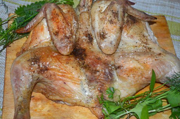 Цыпленок в духовке рецепт с фото