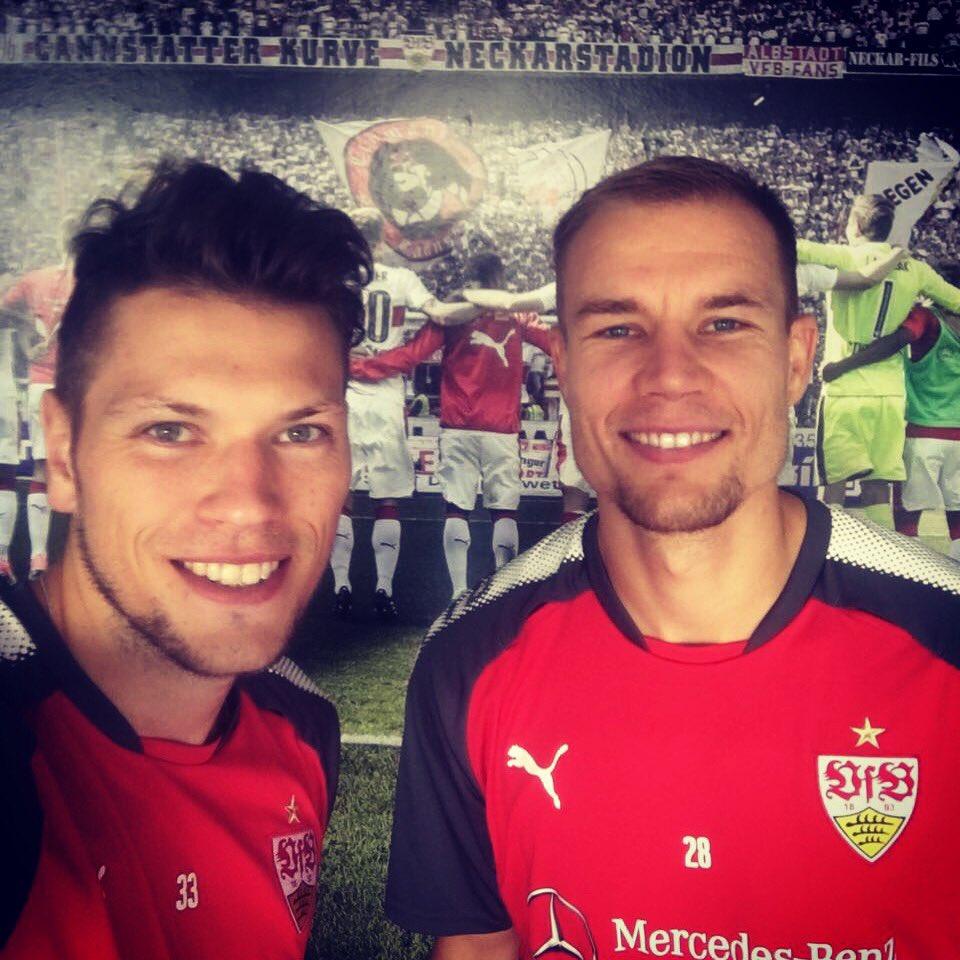 Trainingsduo 👊🏻👊🏻⚽️⚽️ @VfB #ingoodcompany #training #vfb #hb28 #dg33 h...