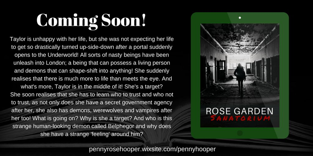 #RT Coming soon! Read a free sample on my website now!  https:// pennyrosehooper.wixsite.com/pennyhooper  &nbsp;     #booklove #bibliophile #horror #bookish #booklovers #demons<br>http://pic.twitter.com/e69MU1y94y