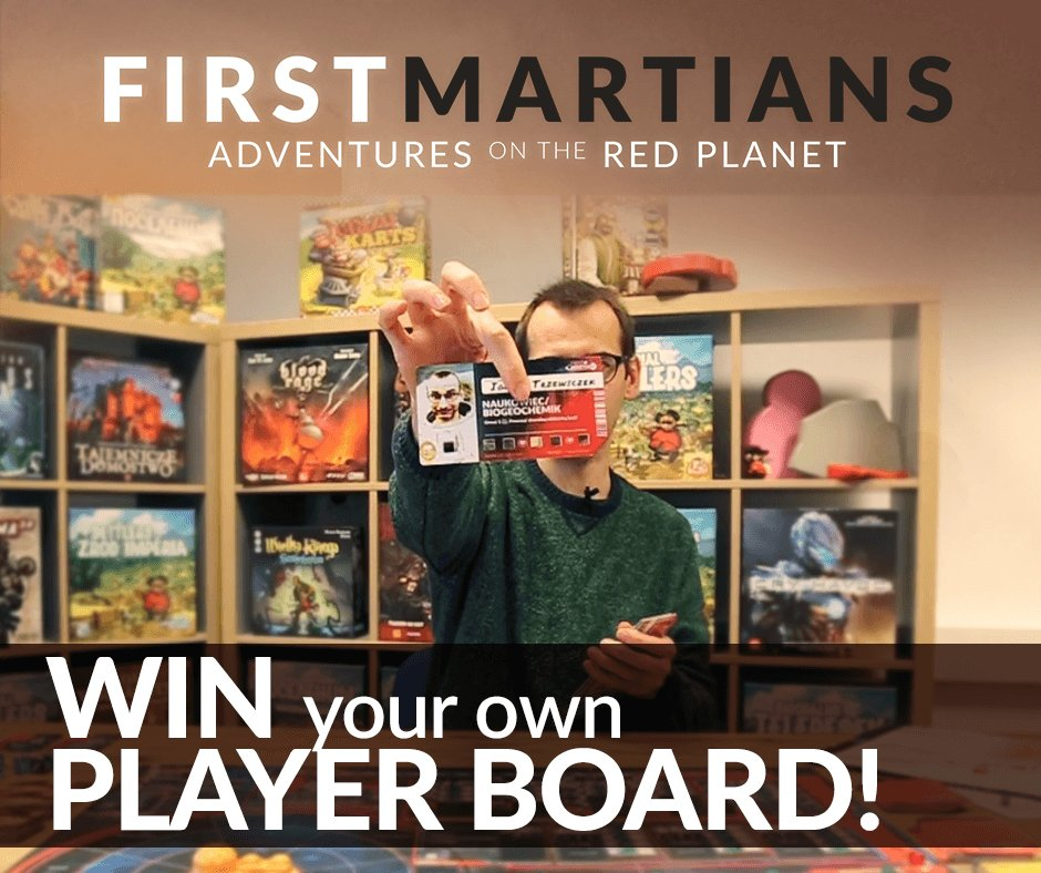 WIN A PLAYER BOARD  http:// bit.ly/FMboard  &nbsp;    Take a video while playing First Martians and win your own player board! #Removal #FMEarlyLaunch<br>http://pic.twitter.com/wMU5AneLwX