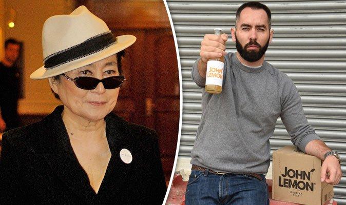 Yoko Ono forces John Lemon drink to re-brand threatening legal action over John Lennon trademark. https://t.co/hcrglzQNvb