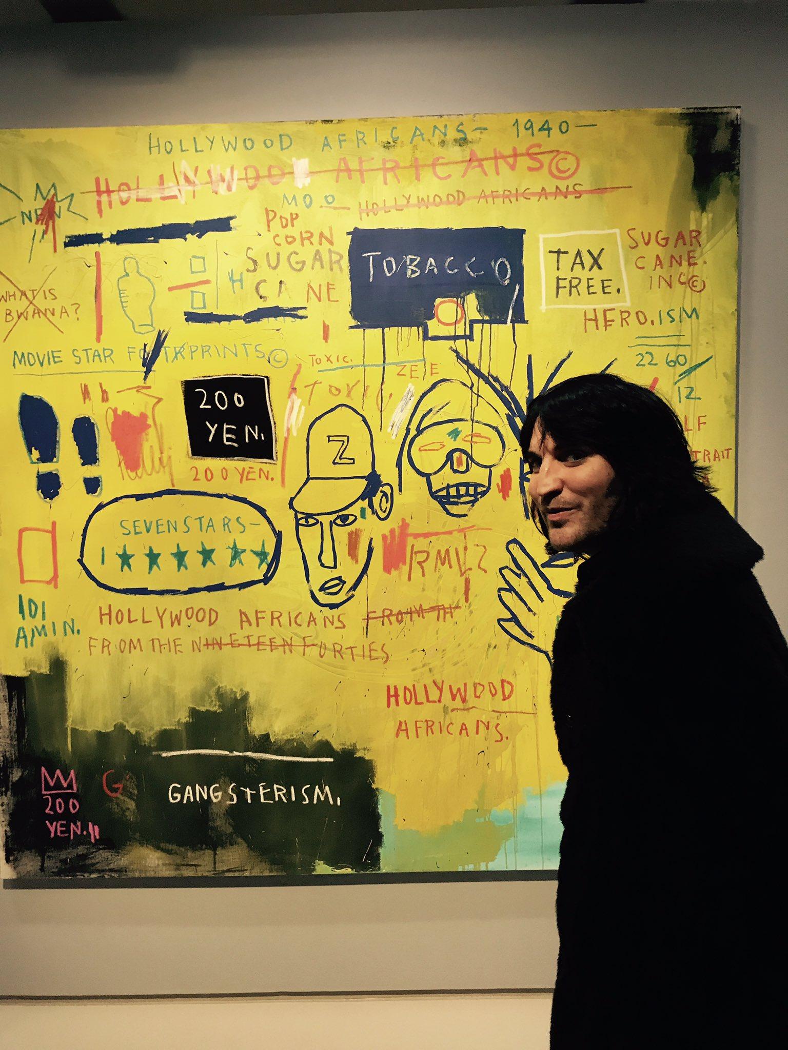 Jean Michael Basquiat the genius child ! Go check him out at the Barbican x https://t.co/7H0dsyaFCj