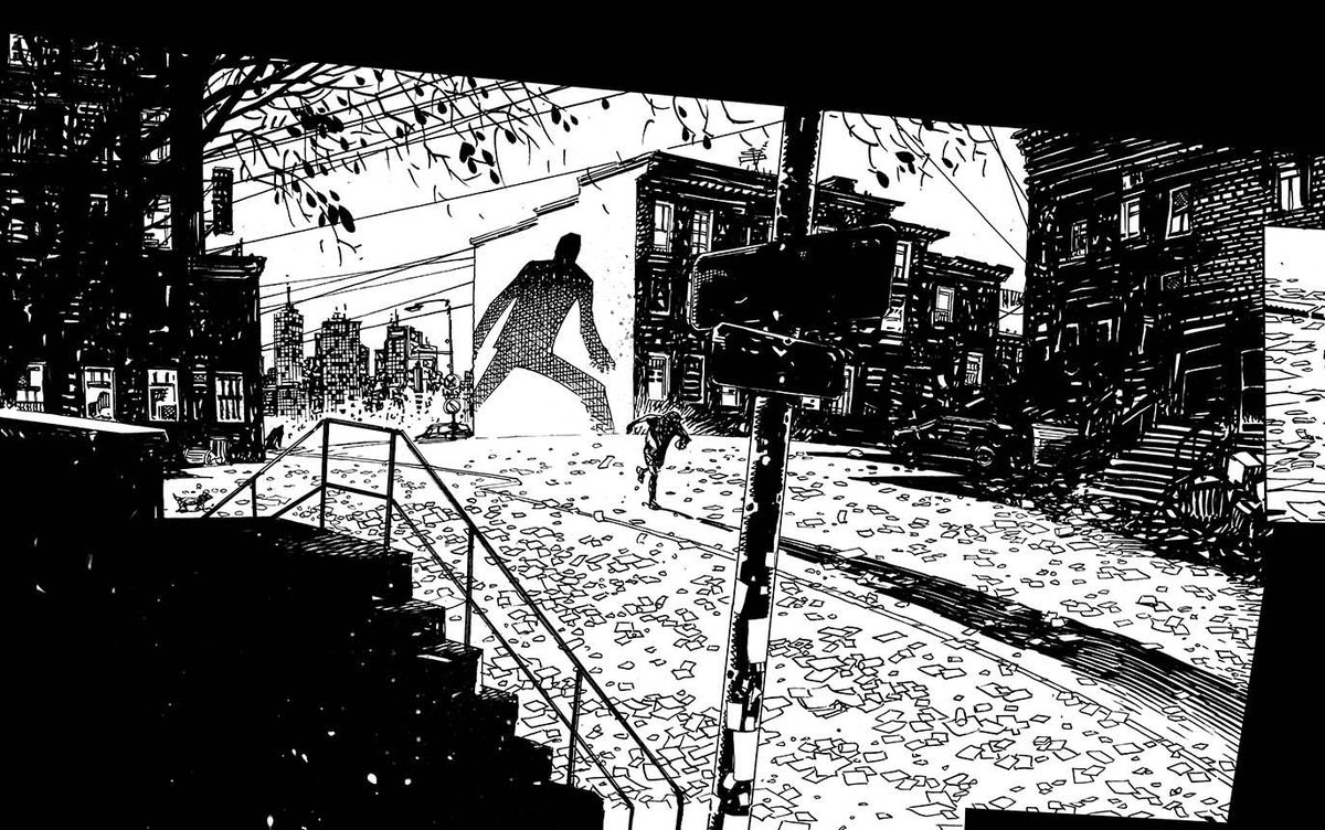 here&#39;s that panel from yesterday all finished for my new #comic #comicart #inking #urban #decay #shadows #inking #filmnoir #image<br>http://pic.twitter.com/aZcQINXp2T