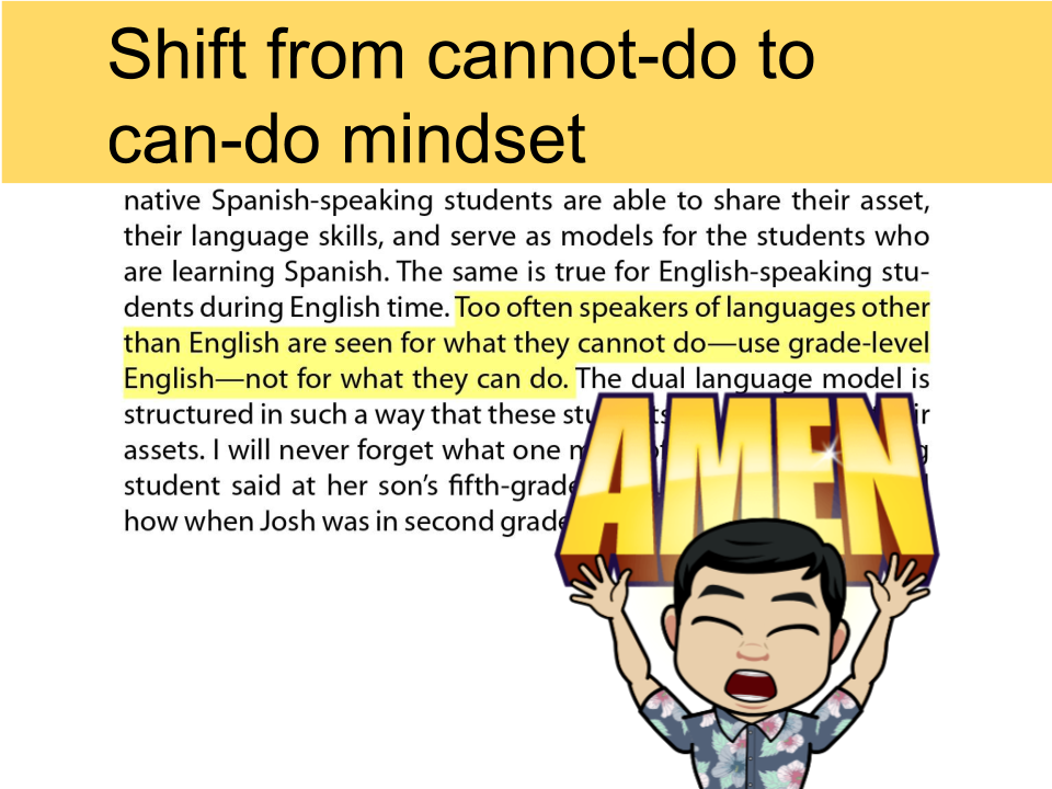 Shift the focus to what #els_can do vs what they can&#39;t. #eal #ela #esl #ell #esol #eld #educhat #Ellchat_BkClub #ellchat_snaps<br>http://pic.twitter.com/h5seW21J67