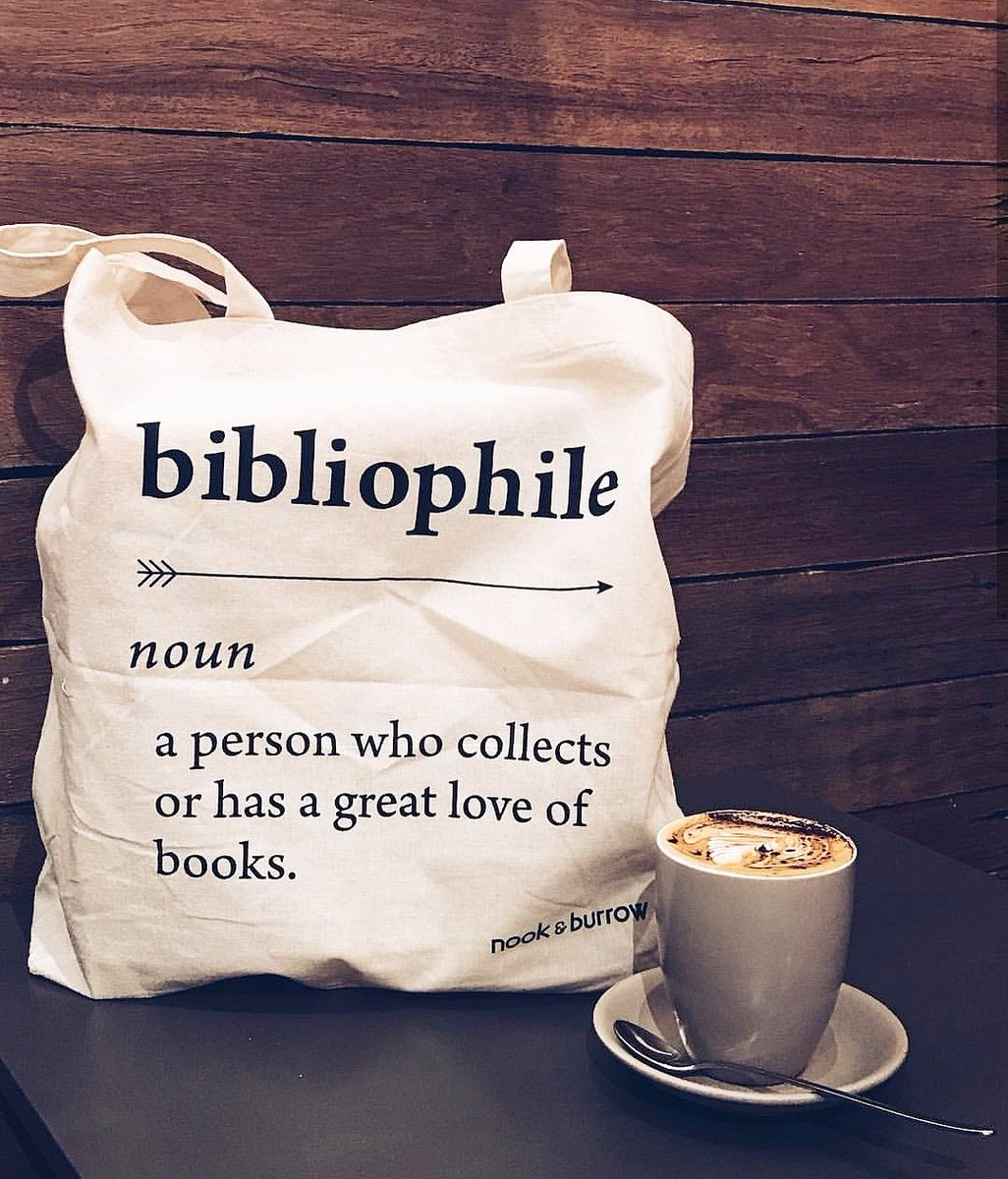 Every booklover needs one of our BIBLIOPHILE tote bags  #nookandburrow #bibliophile <br>http://pic.twitter.com/zIHqA0G3fP