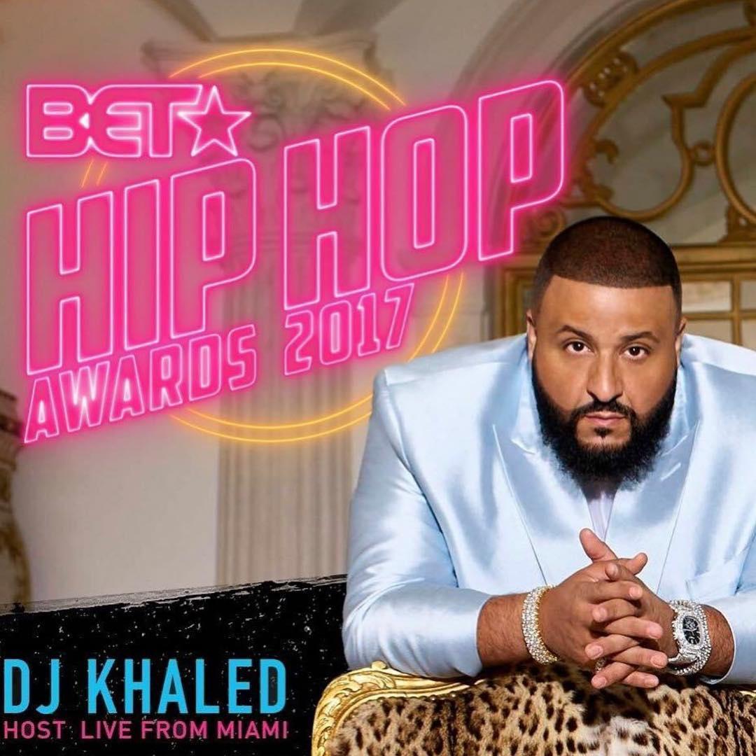 .@djkhaled named as host for the 2017 BET Hip Hop Awards. https://t.co...
