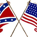 @FoxNews @antifaintl @DemSocialists @AntifascismUSA @DonaldTrump @ANP14 @FaithGoldy @CNN  United States of America Nationalism (North&South flags)