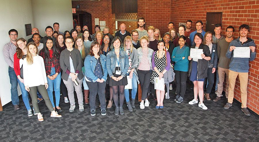 #Waite PhD students have presented their research at the Annual Postgrad Symposium. #uniofadelaide #agfoodwine  https:// buff.ly/2xwZ2DY  &nbsp;  <br>http://pic.twitter.com/WYABNL331G