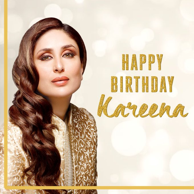 Wishing our favourite a very happy birthday! Lots of love to you, Kareena Kapoor Khan