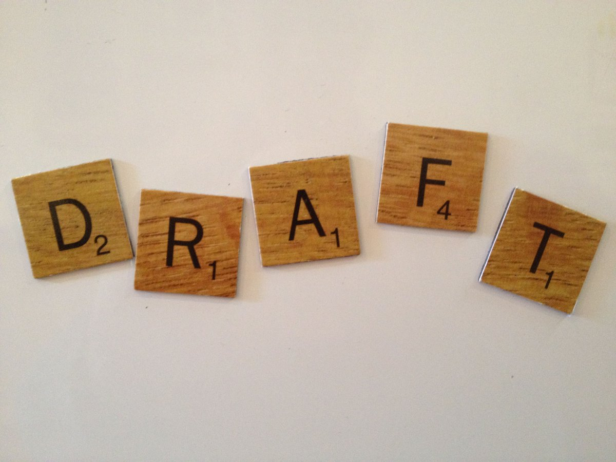 The word DRAFT means it&#39;s not finished. It doesn&#39;t have to be perfect.  Press SEND now.  #acwri #PhDchat #ECRchat <br>http://pic.twitter.com/t41zab23yi