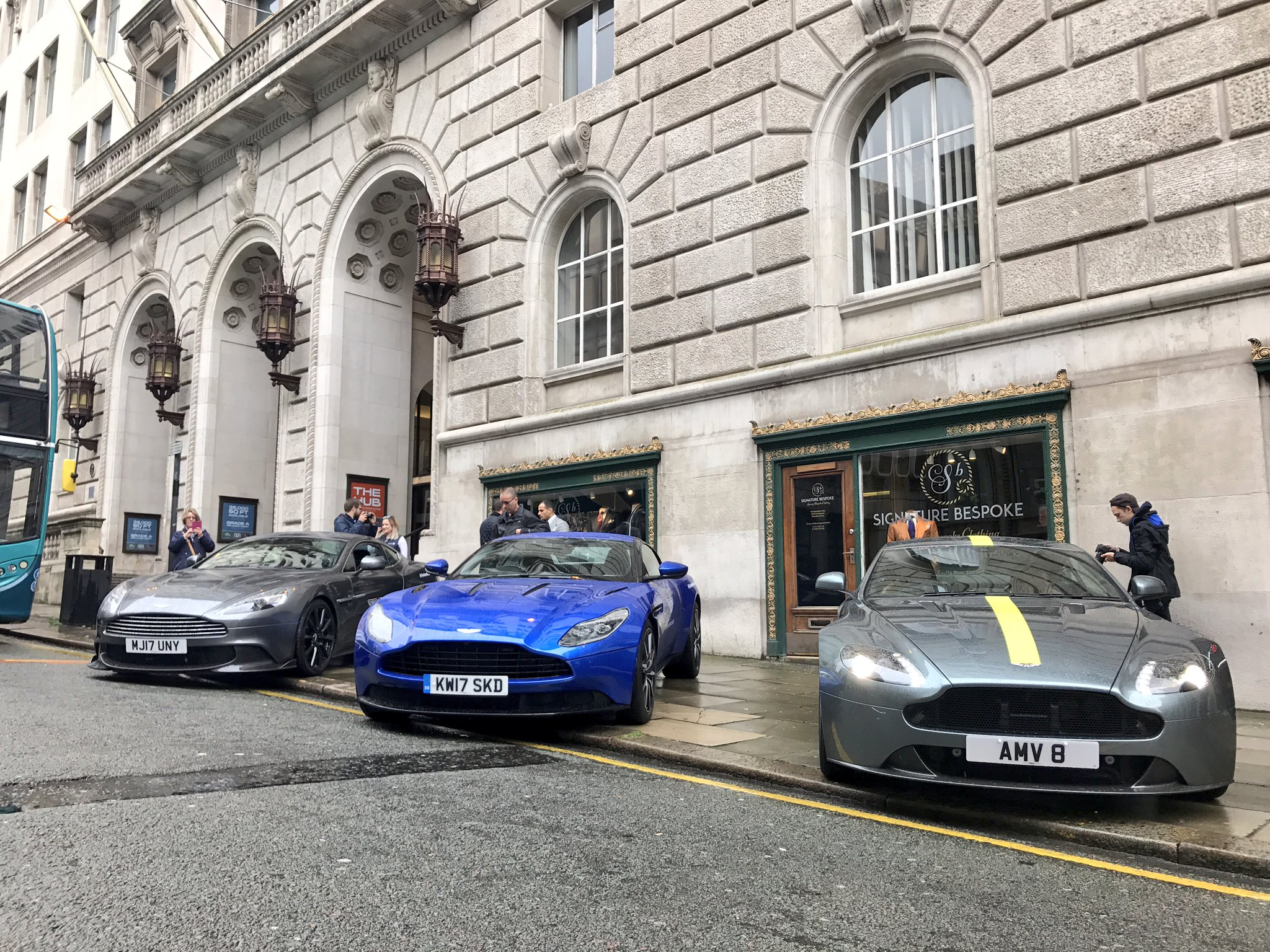 """Aston Wilmslow on Twitter """"Causing a stir at SigBespoke Liverpool"""