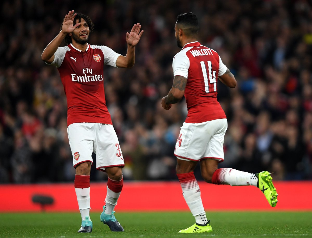 Arsenal are now unbeaten in 4 in all competitions (W3 D1)...  #UEL winners this season?  <br>http://pic.twitter.com/uMkZHicwE9