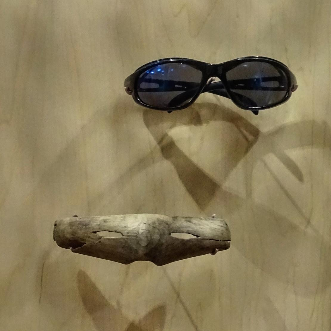 Eye protection, now and then. Inupiat Heritage Center #museum #eyes #protection #goggles #sunglasses #eyewear #glare #alaska<br>http://pic.twitter.com/86BQpOxl19